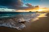 Sunrise Coast, Lanikai Beach, O'ahu, Hawaii, USA (Slipshod Photog) Tags: morning beach nikon d7100 travel water island sky ocean sunrise photography landscape clouds kailua hawaii unitedstates us
