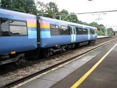 Train at Gidea Park (JonCombe) Tags: coastwalk186 essex colchester coast