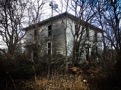 it's just another quiet day at the old farm...(where the boys are house) (Aces & Eights Photography) Tags: abandoned abandonment decay ruraldecay oldhouse abandonedhouse