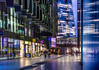 More At Night (DobingDesign) Tags: london morelondon lights publicrealm shops restaurants mixeduse pedestrians bluehour architecture theshard moreplace residential offices reflections windows glass signage nightcolours nightshot nighttime stream water