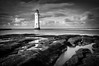 Perch Rock Lighthouse (Alan E Taylor) Tags: architecture atmospheric bw bw10stopfilter beach blackwhite blackandwhite cloud coast coastal dark dramatic england europe fineart le lighthouse lightroom liverpool longexposure macphun macphunluminar2018 macphuntonalityck merseyside mono monochrome newbrighton noiretblanc ocean reflection sea seimalchemyactions seimeffects seimlumits seimnittygrittyactions shore sky skylum tourism tourist travel uk unitedkingdom water weather britain british coastline peaceful tranquil