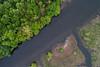 Diagonal Stream (Darren LoPrinzi) Tags: aerial dji drone phantom4pro phantom4proplus nature water creek river trees treetops perspective waterway diagonal