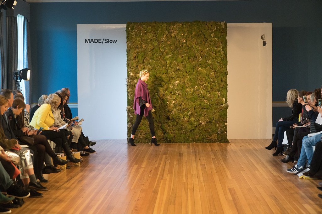 MADE-Slow PRESENTATION OF QUALITY IRISH FASHION DESIGN - STUDIO DONEGAL [FASHION SHOW AT THE RDS JANUARY 2018]-136235
