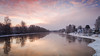Sunrise (samiKoo) Tags: winter landscape nature naturephotography naturallight river riverview reflection reflections water ice trees snow sky clouds sunrise morning finland photography photo photograph canon 6d 24105mml pretty beautiful moody