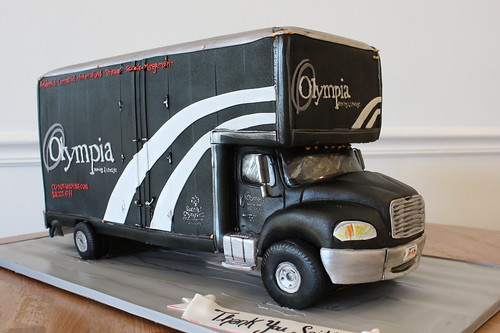 Moving Truck Cake