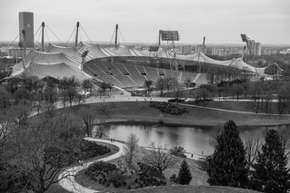 Olympic Stadium Munich. Martyn Haworth. MH Sports Photo. Fuji X-T2