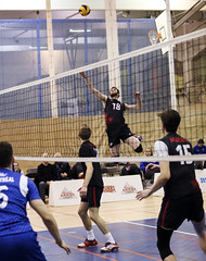 Volleyball Montreal Carabins vs Team Canada (Danny VB) Tags: carabins volleyball uqam udem sports indoor university usports cepsum montreal quebec canada teamcanada men dannyboy