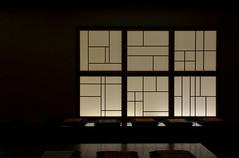 lines in the window (Hayashina) Tags: japan misawa window lines hww reflection seat cushion