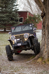 Jeep & Snow -5 (sammycj2a) Tags: willys jeep snow nikon rockcrawler winch factor55 ogden utah