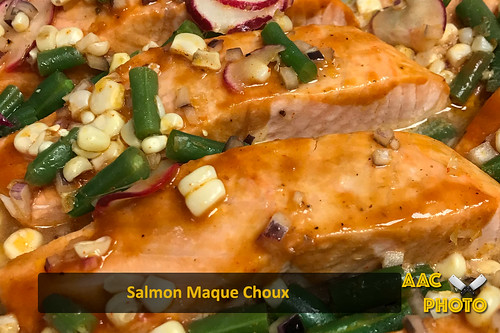 """Salmon Maque Choux • <a style=""""font-size:0.8em;"""" href=""""http://www.flickr.com/photos/159796538@N03/39568520085/"""" target=""""_blank"""">View on Flickr</a>"""