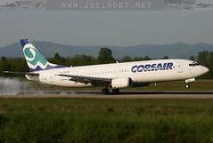 F-GFUG (Joel@BSL) Tags: corsair france basel mulhouse bsl mlh euroairport boeing boeing737 boeing737400 b734 734
