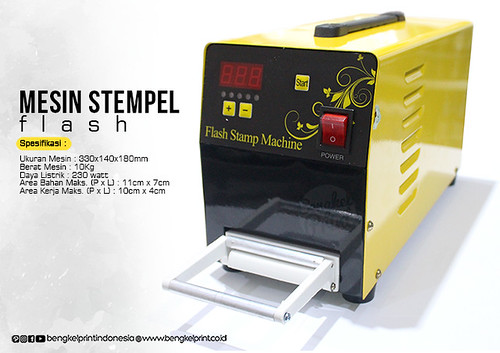 Jual Mesin Stempel Flash Import