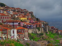 Molyvos village..Lesvos Greece (panoskaralis) Tags: molyvos mithimna village greekvillage colors houses oldhouses island lesvosisland lesbos lesvos mytilene greece greek hellas hellenic outdoor landscape architecture
