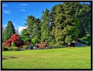 British Columbia Canada -  Peace Arch Provincial Park in Canada