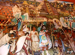 Diego Rivera Mural II (jglsongs) Tags: mexicocity cdmx mexico palacionacional historicaldistrict diegorivera rivera murals