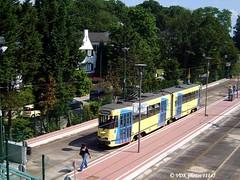 7705-11145§0 (VDKphotos) Tags: stib mivb bn pcc t7700 tram livrée91 l52 belgium bruxelles