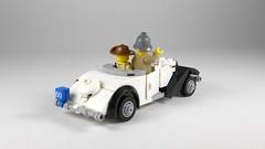 Citroën Traction Avant Cabriolet (Rebla) Tags: citroen traction avant cabriolet lego car french 1930s rebla