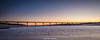 (Ignacio Ferre) Tags: puente bridge ríoaulencia embalsedevalmayor embalse reservoir agua water sunset puestadesol dusk anochecer paisaje landscape panorama serenidad madrid españa spain nikon cielo sky
