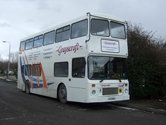 Grayscroft Coaches - Mablethorpe (Hesterjenna Photography) Tags: rji1655 r344lgh volvo olympian northern counties bus decker grayscroft coaches psv school college students s schoolbus scholar transport travel northerncounties