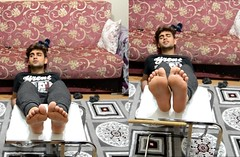 Turkish Youtuber (foot N socks) Tags: turkish turkishman barefoot soles ayak ayaklar handsome hotmen sexyguys sexyboy foot