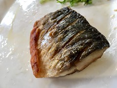 Seto, 5-6 Plender St, London NW1 0JT (droolworthy) Tags: japanesefood mackerel misosoup healthyfood setlunch fish chillioil tableforone solodining camden camdentown