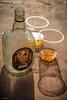 old monk (sami kuosmanen) Tags: india intia hampi alcohol rom rum empty bottle light travel asia bokeh shadow varjo viina rommi lasi glass pullo tyhjä alkoholi sunrise