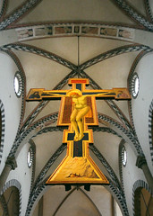 IMG_9263 (trevor.patt) Tags: giotto crucifix basilica gothic architecture vaulting florence it polychrome