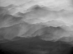 Smoky Mountains above Asheville (joiseyshowaa) Tags: mountains hills smokey nc sc carolina nature flight from above silhouette twilight rolling geology usa majesty smoky nantahala national forest chattahoochee pisgah i26 i40 north