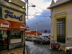 Dinner across the Tagus (Tony Tomlin) Tags: lisbon portugal europe tagus river ferry