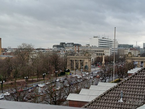 Vista do Novotel Am Tiergarten, Berlim