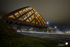 Sneek 3-2-18 (stevenphotographynl) Tags: canon sneek snelweg lights sluitertijd nacht night highway friesland netherlands nederland bridge