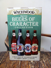 Whychwood (knightbefore_99) Tags: beer cerveza pivo hops tasty malt uk english england ale box character collection hobgoblin scarecrow imperial red bottle four
