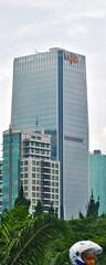 Kantor Pusat BTPN (Ya, saya inBaliTimur (leaving)) Tags: jakarta building gedung architecture arsitektur office kantor