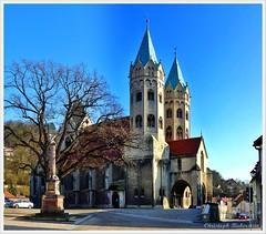 Marienkirche zu Freyburg (Christoph Bieberstein) Tags: deutschland germany sachsenanhalt unstrut freyburg romanik gotik basilika kostel kirche church
