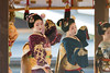 dance (walkkyoto) Tags: 奉納舞 honomai 節分 setsubun event 八坂神社 yasaka 神社 shrine 舞妓 maiko 芸妓 geiko 京都 kyoto 日本 japan ef300mmf4l