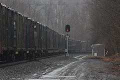 Takin' Out the Trash (Eric_Freas) Tags: norfolk southern ns pittsburgh line petersburg pennsylvania mp 206