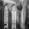 ein herz für ruinen (bilderkombinat berlin) Tags: ⨀2011 berlin germany eu deutschland blackwhite bw square europa window bricks ruin art heart herz church kirche citysights city mitte