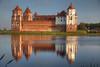 Mir Morning (hapulcu) Tags: belarus mir autumn беларусь мир castle chateau schloss lake morning