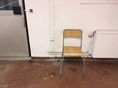 Down in the basement. (rotabaga) Tags: sverige sweden göteborg gothenburg stol chair iphone