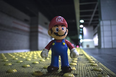 Mario Waiting for the Rapid (FlynnLovesPhotography) Tags: toy toyphotography toyphoto instagood namaste picoftheday nintendo nes snes cleveland train transportation videogames gamer gaming gamerguy gamergirl nintendoswitch supermariobros jade