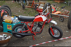 SWM Mini moto (baffalie) Tags: moto bike motorbike motocycle ancienne vintage classic old retro expo italia sport racing motor show collection club italie milan fiera