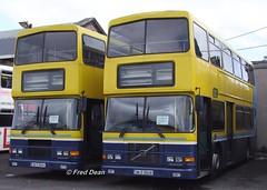 Dublin Bus RV441/38 (98D20441/38). (Fred Dean Jnr) Tags: dublin dublinbus busathacliath dublinbusyellowbluelivery volvo olympian alexander rv441 rv438 98d20441 98d20438 broadstonedepotdublin april2010 buseireannbroadstonedepot s433nsb r18gct