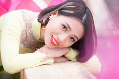 5213 (mapleal_2000) Tags: vietnam woman lovelysmile aodai