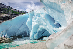 Nigardsbreen glacier Norway (Rick_Stevens) Tags: nigardsbreen glacier norway ice