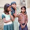 Timides enfants  ...Shy children .. Navadhi India (geolis06) Tags: geolis06 asia asie inde india bihar navadhi village portrait street rue famille family child olympus enfant rural