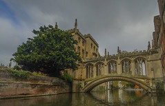 Bridge of sighs,Cambridge (y.mihov, Big Thanks for more than a million views) Tags: bridgeofsighs cambridge water city travel trespass tourist trees town europe england englanduk building buildings sonyalpha sightseeing sigma 1224mm skyes outdoor famous historical stone mason university college