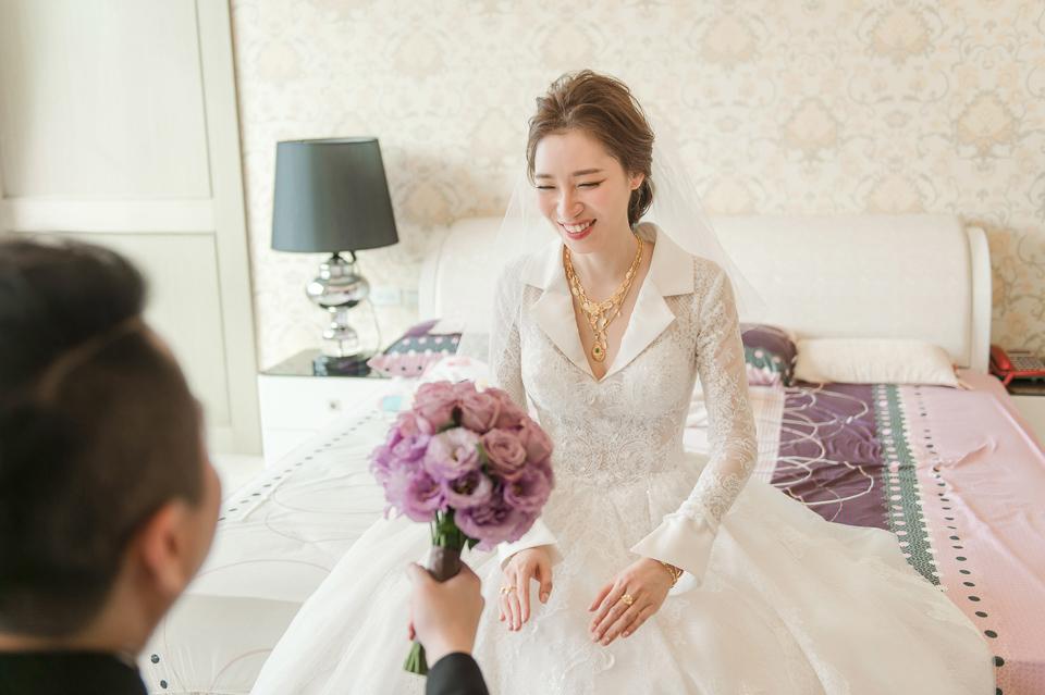 婚攝 高雄林皇宮 婚宴 時尚氣質新娘現身 S & R 061