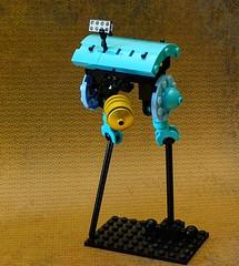 seeker tablescrap (legoalbert) Tags: lego drone robot scifi