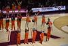 HOKIE CHEERLEADERS (SneakinDeacon) Tags: hokies vt vatech virginiatech ncsu ncstate wolfpack cassellcoliseum acc basketball cheerleaders