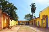 Colors of Happiness (emerge13) Tags: trinidadsanctispírituscuba cuba trinidadcuba architecturaldetails colonialarchitecture architecturalheritage colorfulhouses colorful colors yellowandblue